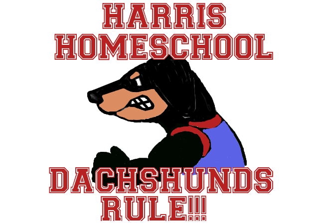 Harris Homeschool Dachshunds!